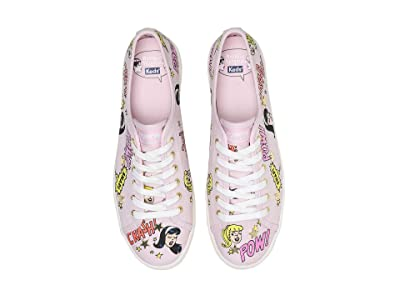 Keds Keds x Betty and Veronica Kickstart Pop Print (Pink Canvas) Women