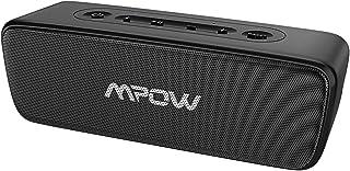 Mpow Soundhot R6 bluetoothスピーカー IPX7完全防水防塵 TWS二台接続可能 16W出力 24時間連続再生 30m長距離転送 通話可能 skype対応 ワイヤレススピーカー ポータブルスピーカー 防水スピーカー 無線スピーカー 黒