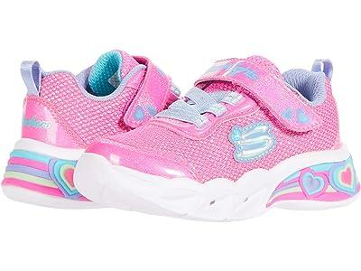 SKECHERS KIDS Sport Lighted Sweetheart Lights 302304N (Toddler) (Pink/Multi) Girl