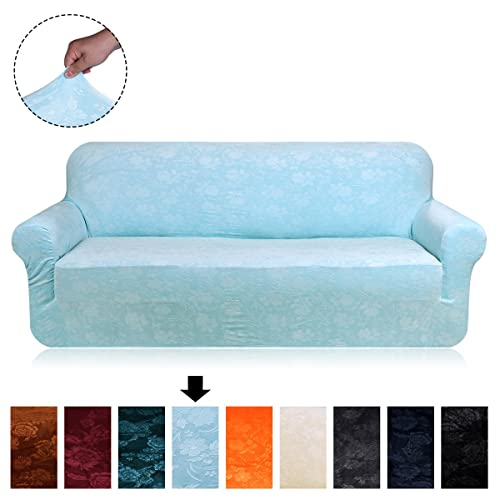 Swell Blue And Brown Slip Cover For Couch Amazon Com Pdpeps Interior Chair Design Pdpepsorg