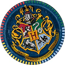 Unique Party 59104 - 18cm Harry Potter Party Plates, Pack of 8
