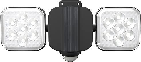 ムサシ RITEX フリーアーム式LEDセンサーライト(8W×2灯) 「コンセント式」 防雨型 LED-AC2016