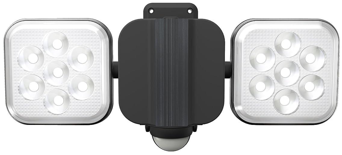 テストアミューズメント前売ムサシ RITEX フリーアーム式LEDセンサーライト(8W×2灯) 「コンセント式」 防雨型 LED-AC2016