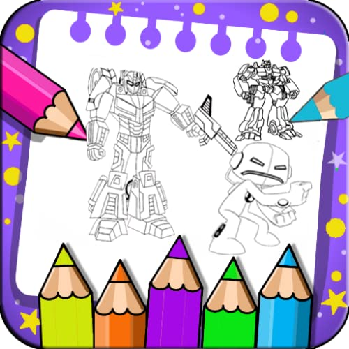 Robot Coloring for kids