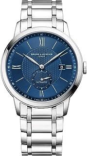 Baume & Mercier - Baume et Mercier Classima 10481 reloj automático para hombre con esfera azul
