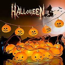 Halloween Decoratie Licht Pumpkin String Light 3m 20LED Pompoen Lichtslinger