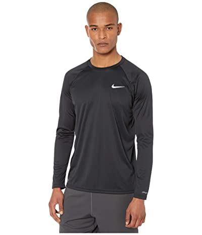 Nike Essential Long Sleeve Hydroguard (Black) Men