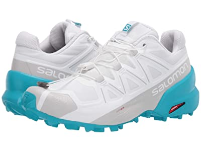 Salomon Speedcross 5 (White/White/Bluebird) Women