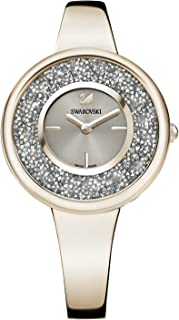 Swarovski Crystalline Pure Watch - Metal Bracelet - Champagne Gold Tone - 5376077