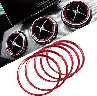 TOOGOO Int/éRieur de Voiture Panneau de D/éCoration de Porte Couverture Garniture Argent pour Mercedes Classe C W204 2008-2013