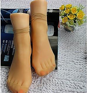 عارضة أزياء عرض قدم أنثى , نموذج قدم 36A , توبي منفذ واحد للنساء 1: 1 قالب قدم سيليكون ناعم , أحذية رياضية