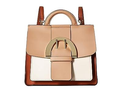 ZAC Zac Posen Biba Buckle Backpack (Latte) Backpack Bags