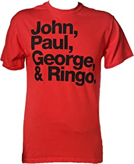 Best beatles shirt john paul ringo george Reviews