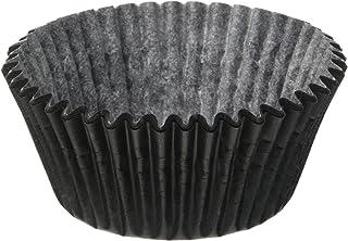 Jubilee Sweet Arts 50 Count Baking Cups, Standard Sized, Black