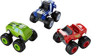 Fisher-Price Nickelodeon Blaze & the Monster Machines, Die-cast 3-Pack [Amazon Exclusive]