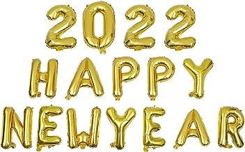 PRETYZOOM 1 Set 2022 Gelukkig Nieuwjaar Ballon Graduation Decoraties Nieuwe Jaar Eve Festival Feestartikelen Gunsten Goud