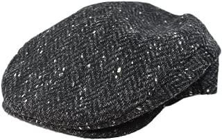 Biddy Murphy Flat Irish Cap Men's 100% Wool Charcoal Fleck Made in Ireland