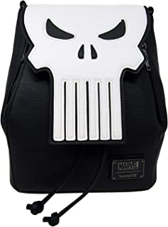 Loungefly Faux Leather Marvel The Punisher Mini Backpack