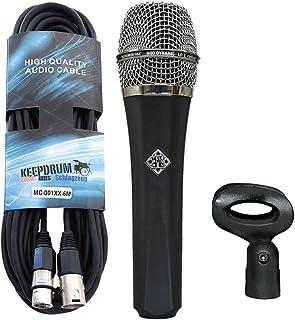 Telefunken M80dinámico micrófono Keepdrum XLR de cable
