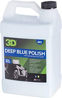 3D Deep Blue Polish - 1 Gallon | Made in USA | All Natural | No Harmful Chemicals| Wheel, Mags, Rim Cleaner, Metal Cleaner, Heavy-Duty Cleaning of Tarnished Metal, Polishes Brass, Silver, Chrome, Gold