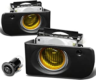 For Acura Integra Driving Bumper Fog Light+Bulbs+Switch (Amber Lens) - DB DC