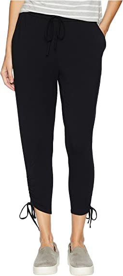 In a Cinch Rayon Spandex Pants with Ruched Hem