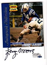 1999 Fleer Sports Illustrated Greats of the Game Autograph Collection Lenny Moore #1 NM Auto