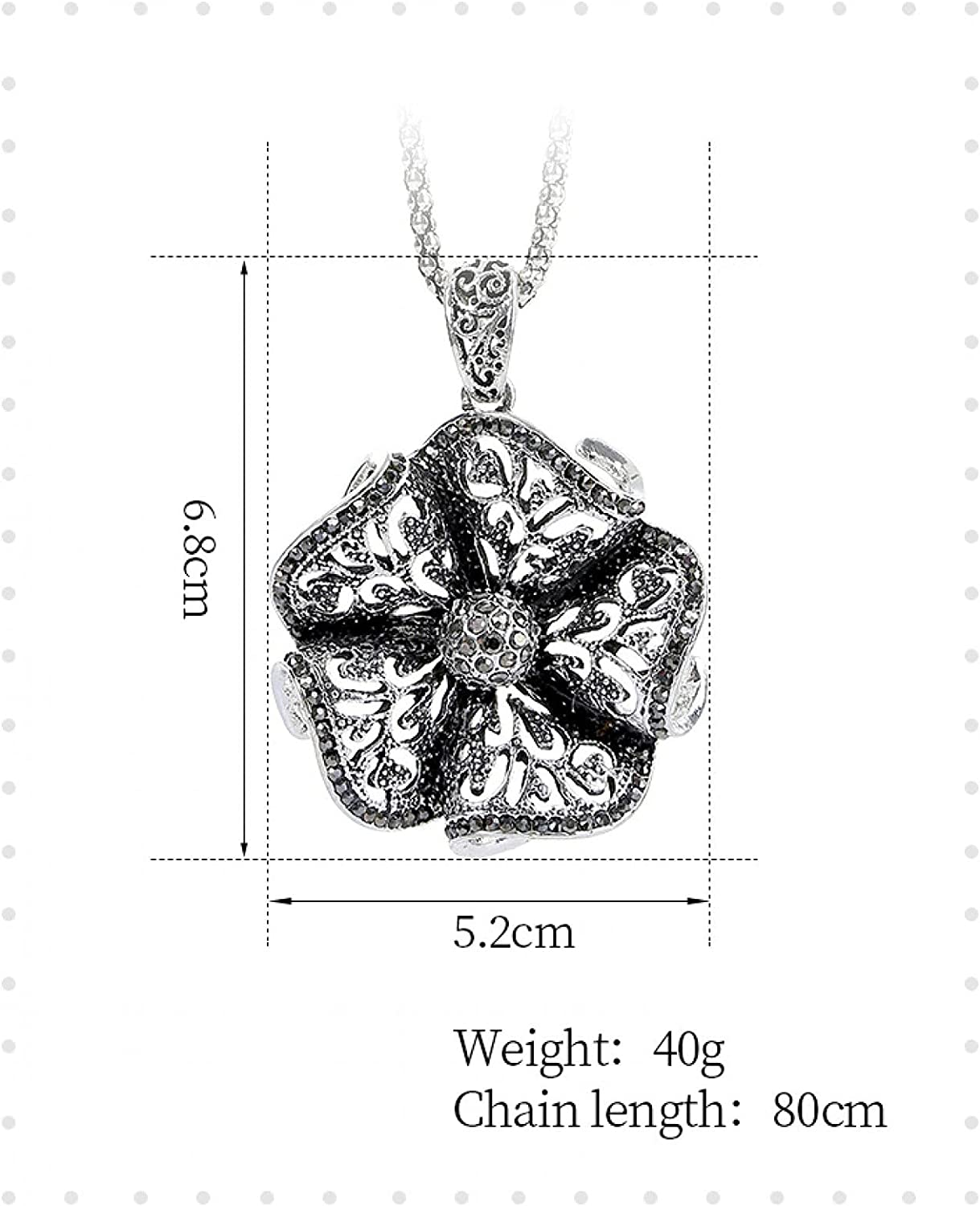 Grahad Flower Sweater Chain Female Trend Limited price sale L Original Hollow Retro 2021 new