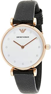 Emporio Armani Ladies Wrist Watch, Black, AR11270