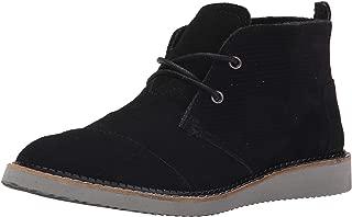 Men Mateo Chukka Black Embossed Suede 10007034 Casual Shoe