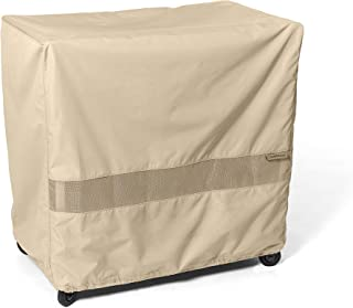 Covermates – Serving Cart Cover – 50W x 30D x 34H – Elite – 300D Stock-Dyed Polyester – Double Stitched Seams – Auto-Locking Drawcord – 3 YR Warranty – Weather Resistant - Khaki