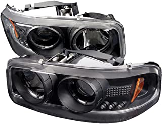 Spyder Auto GMC Sierra 1500/2500/3500, GMC Sierra Denali/GMC Yukon/Yukon Denali/Yukon XL Black Projector Headlight