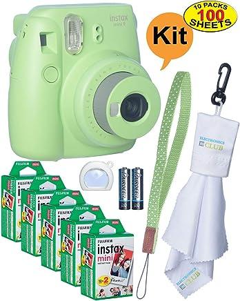 Fujifilm Instax Mini 9 Instant Film Camera + 20 Sheets of...