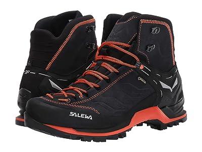 SALEWA Mountain Trainer Mid GTX (Asphalt/Fluo Orange) Men
