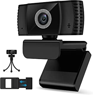 [2021 Upgraded Version] Auto Focus Webcam with Microphone,Svarog HD 1080P Laptop USB PC Webcam with Privacy Cover,Computer...