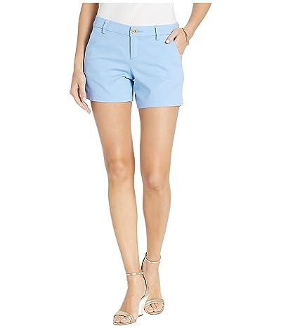 Lilly Pulitzer Callahan Stretch Shorts (Blue Peri) Women