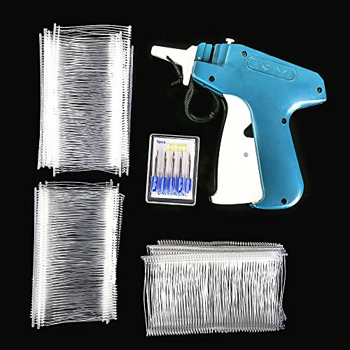 Price Tag Gun SENREAL Clothes Tagging Gun Retail Price Label Gun Standard Tag Attacher Set with 6 Needles & 1000pcs 2...
