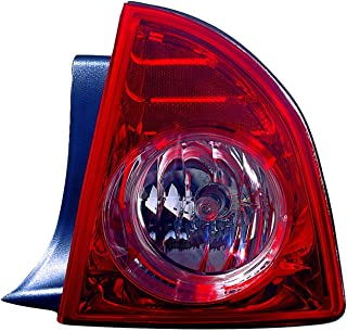 Outer Tail Light Replacement For Chevrolet Chevy Malibu Ltz Model Passenger Right Side Rh 2008 2009 2010 2011 2012 Taillamp