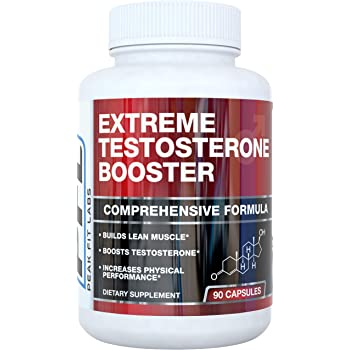 Extreme Testosterone Booster for Men – All Natural with Tribulus Terrestris for Faster Muscle Growth Size Pump and Increased Intensity During Your Workouts