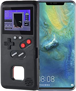 Lesgos Gameboy Case for Huawei Mate 20, Video Game Phone Case, Soft Silicone Protective Cover Retro 3D Gameboy Case Design Color Screen for Huawei Mate 20 Pro