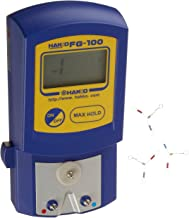Hakko FG100-02 Digital Solder Tip Temperature Meter, LCD Display, Uses 9V Battery, Fahrenheit Type