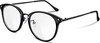 91a29c84fd FEISEDY Women Vintage Glasses Frames Round Non Prescription Eyewear Clear  Lens B2260