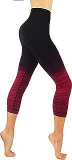 CODEFIT Yoga Power Flex Dry-Fit Pants Workout Printed Leggings Ombte Print XS-3XL