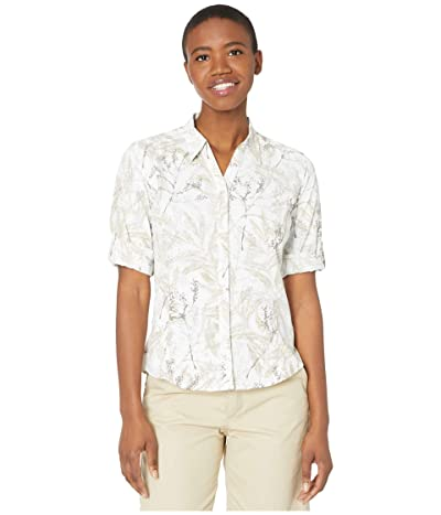 Royal Robbins Expedition Print 3/4 Sleeve Shirt (Grain) Women