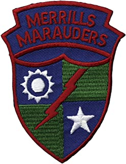 Merrills Marauders Patch Full Color