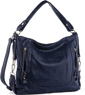 Handbags for Women,UTAKE Womens Shoulder Bags PU Leather Hobo Handbags Top-Handle Purse