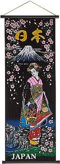 キャッスルエンタープライズ デザイン小物 マルチ 縦84×横33cm 日本のお土産 掛け軸 富士姫 中 SC102