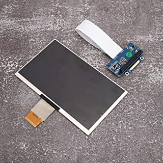 7 inch IPS Display with 1024 x 600 Resolution, Small Stable HD DPI LCD Display for Raspberry Pi, with Support for Raspberr...