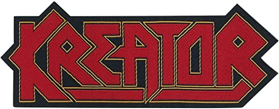 Kreator Die Cut Logo Patch Thrash Metal Band Music Jacket Woven Sew On Applique