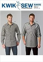 KWIK-SEW PATTERNS K4075 Men's Shirts
